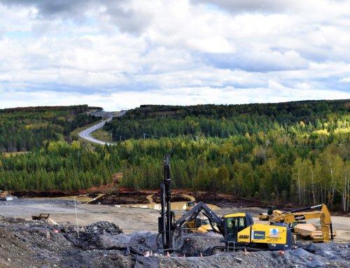 Surveillance environnementale du chantier de construction du 5e tronçon de l'autoroute 85